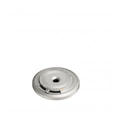 Olympus 15mm 1:8.0 Body Cap Silver