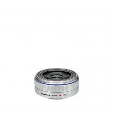 Olympus M.Zuiko Digital 17mm 1:2.8 Pancake Silver