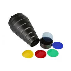 Kryptinis reflektorius su filtrais Fomei