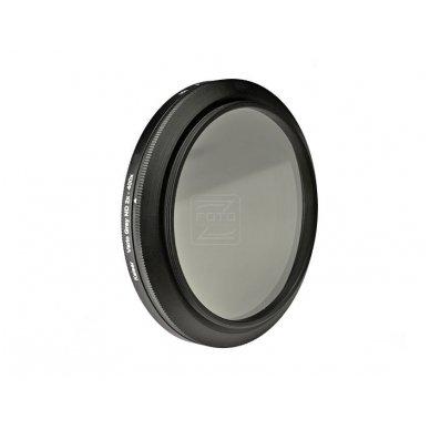 Reguliuojamas ND filtras Kaiser Vario Grey 77mm 2
