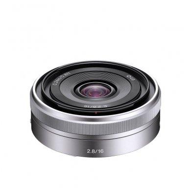 Sony E 16 mm F2.8 3