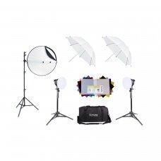 Šviestuvų komplektas BASIC HOBBY LED 38/38,Terronic