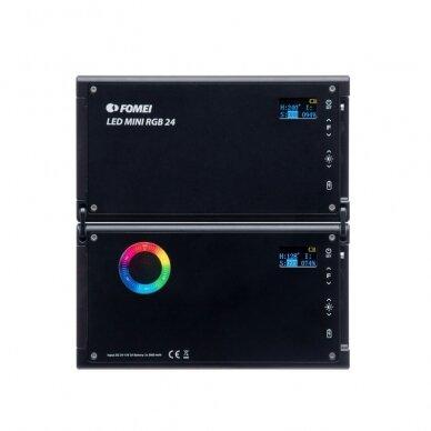 Šviestuvas FOMEI LED MINI RGB 24 4