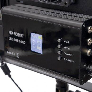 Šviestuvas FOMEI LED RGB 100D 5
