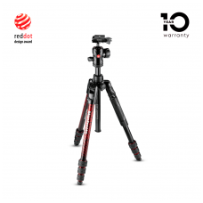 Trikojis stovas Manfrotto Befree Advanced Twist Red