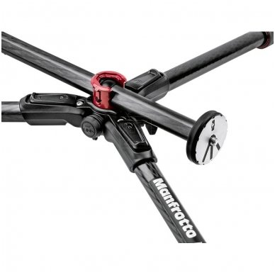 Trikojis stovas Manfrotto 190 Go! MS Carbon 3