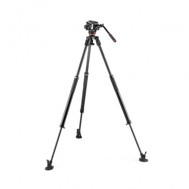 Trikojis stovas Manfrotto 504X 635 Fast Single Carbon 2