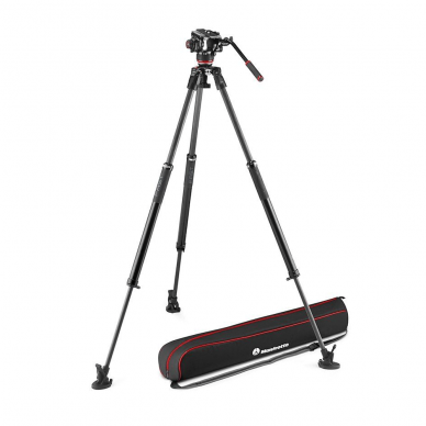 Trikojis stovas Manfrotto 504X 635 Fast Single Carbon