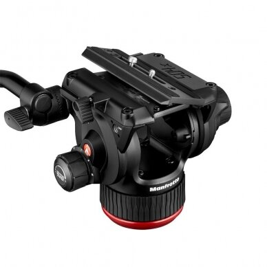 Trikojis stovas Manfrotto 504X 635 Fast Single Carbon 11