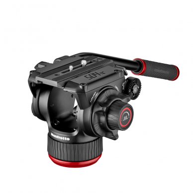 Trikojis stovas Manfrotto 504X 635 Fast Single Carbon 12