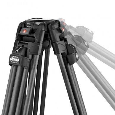 Trikojis stovas Manfrotto 645 Fast Twin Carbon 6