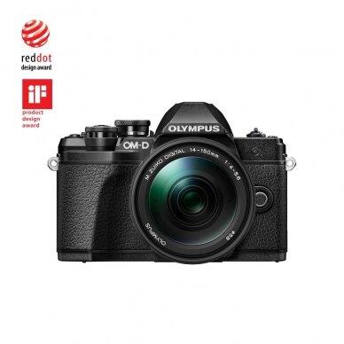 Fotoaparatas Olympus OM-D E-M10 Mark III Black 12