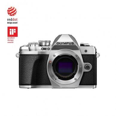 Fotoaparatas Olympus OM-D E-M10 Mark III Silver