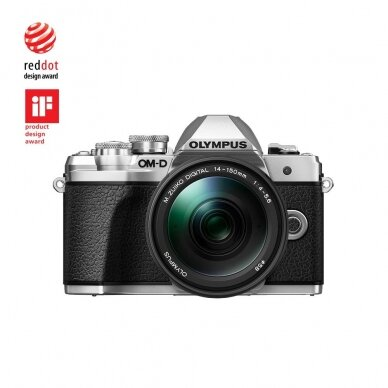 Fotoaparatas Olympus OM-D E-M10 Mark III Silver 12