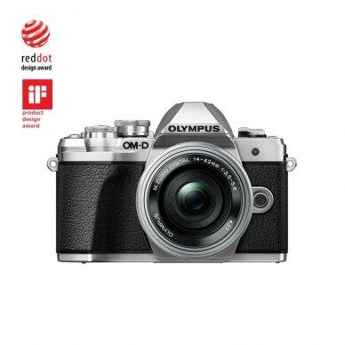 Fotoaparatas Olympus OM-D E-M10 Mark III Silver 9