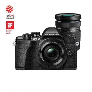 Fotoaparatas Olympus OM-D E-M10 Mark III Black 10