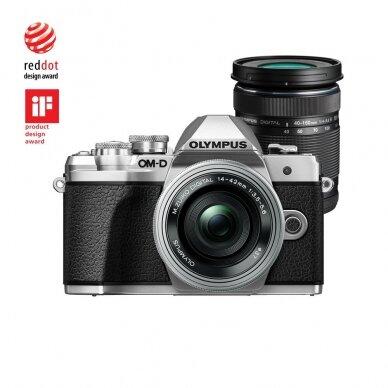 Fotoaparatas Olympus OM-D E-M10 Mark III Silver 10