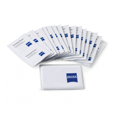 Zeiss optikos valymo servetėlės